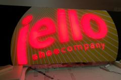Svetelná reklama Jello
