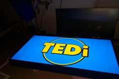 Svetelná reklama Tedi