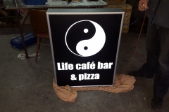 Svetelná reklama PIZZA