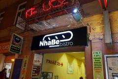 Svetelná reklama NHABE